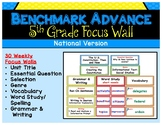 Benchmark Advance Fifth Grade Focus Wall (National)