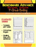 Benchmark Advance - National - First Grade Spelling Activities