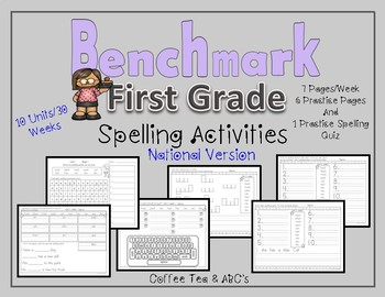 Benchmark Advance National First Grade Spelling Activities