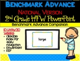 Benchmark Advance-Out of CA users- 2nd Grade High Frequency Word PowerPoint