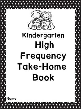 3a. Benchmark Advance  Kindergarten High Frequency Take-Home Book