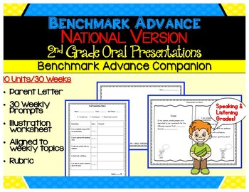 Benchmark Advance -Out of CA Users - Second Grade Oral Presentations