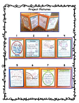 Benchmark Advance (Out of Ca.) 2nd Grade Unit 6 Fable Storyboard Project