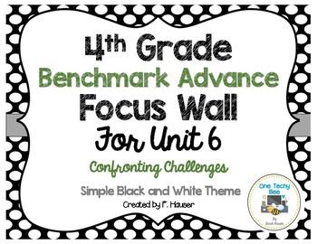 Benchmark Advance Program - 4th Grade Focus Wall - Unit 6