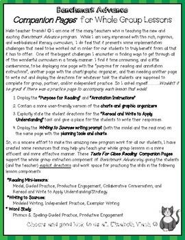 Benchmark Advance Program Supplement Companion Pages Grade 5, Unit 10
