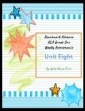 Benchmark Advance RLA Weekly Assessment Grade 1 Unit 8 (3 weeks)