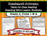 Benchmark Advance Reading Mini-Lesson Skills Booklets *Gra