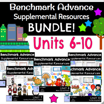 Benchmark Advance Resources B U N D L E *UNITS 6-10