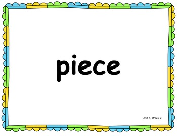 Benchmark Advance Second Grade High Frequency Word PowerPoint