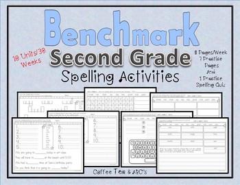 Benchmark Advance Second Grade Spelling Activities