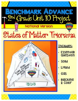 Benchmark Advance Second Grade Unit 10 States of Matter Project (National)