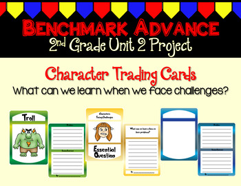 Benchmark Advance Second Grade Unit 2 Trading Card Project (California)