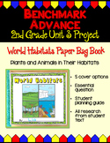 Benchmark Advance Second Grade Unit 3 Habitat Project (California)