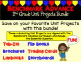 Benchmark Advance Second Grade Unit Project Bundle (California)