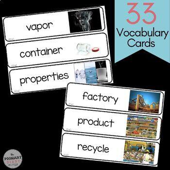 Benchmark Advance Second Grade Vocabulary | Unit 9 and 10