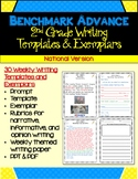 Benchmark Advance Second Grade Weekly Writing Templates & Exemplars (National)