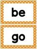 Benchmark Advance Kindergarten High-Frequency List A-F (38 + More)
