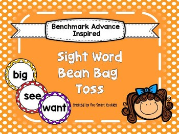 Benchmark Advance Kindergarten High Frequency List A-F (38+More)