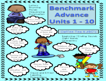 Benchmark Advance Small Group and Supplemental Units Bundle