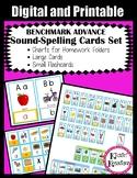 Benchmark Advance Sound Spelling Cards SET with Google Slides™