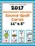 8e. Benchmark Advance Complete Sound-Spelling Card Poster or Flash Cards