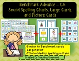 Benchmark Advance Sound Spelling Cards - Charts and Large Cards