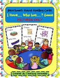 Benchmark Advance Sound Spelling Cards - I have...Who has...? Game-Pictures ONLY