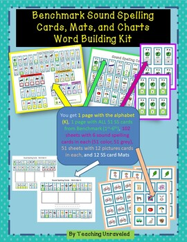 Benchmark Advance Sound Spelling Cards and Word Building Kit - Bundle