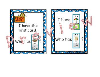 Benchmark Advance Sound Spelling Cards - I Have... Who has...? Game
