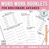 Spelling, Vocabulary, & Grammar Booklets - First Grade (Benchmark Advance)