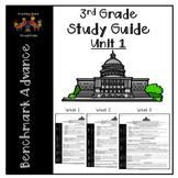Language Arts Study Guide-Unit 1 (3rd Grade-Benchmark Advance)