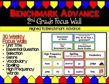 Benchmark Advance (California) Super Bundle for Second (2nd) Grade
