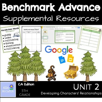 Benchmark Advance Suppl. Resources Unit 2 Developing Characters' Relationships