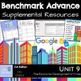 Benchmark Advance Suppl. Resources Unit 9 The Economic Development of Cities
