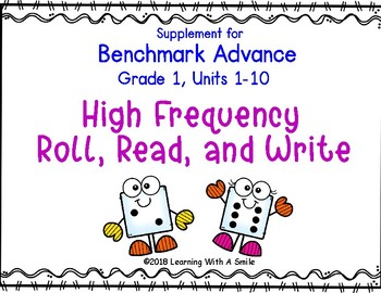 Benchmark Advance Supplemental Resource for Grade 1 ~ Roll, Read, & Write