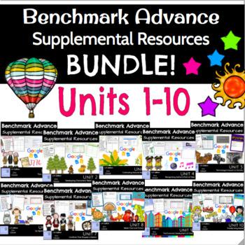 Benchmark Advance Supplemental Resources B U N D L E !