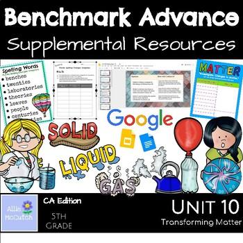 Benchmark Advance Supplemental Resources Unit 10 Transforming Matter