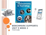 Benchmark Advance Support - Third Grade - Unit 5-Week 3 - EVERYTHING You Need!