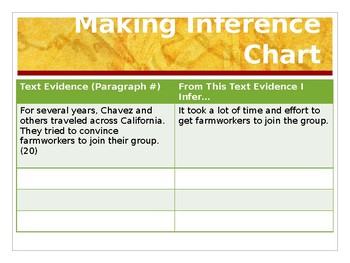 Benchmark Advance  Supports - Third Grade - Unit 1 Week 2-Lesson 11 - Inferences