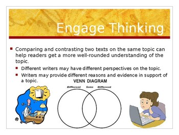Benchmark Advance  Supports - Third Grade - Unit 1 Week 2 - Lesson 14 - Compare.