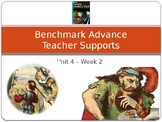 "Benchmark Advance Supports - Third Grade ""Unit 4 Week 2"" - All You Need!"