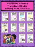 Benchmark Advance TK Morning Work Bundle Unit 1-10