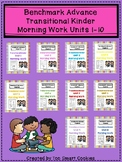 Benchmark Advance TK Morning Work Bundle Unit 1-10