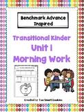 Benchmark Advance TK Morning Work Unit 1