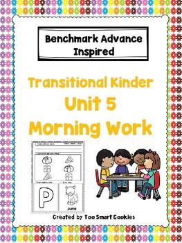Benchmark Advance TK Morning Work Unit 5