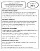 Benchmark Advance Text Dependent Questions * Grade 3 Units 1-10