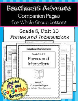 Benchmark Advance Companion Pages * Grade 3, Unit 10