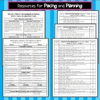 Benchmark Advance Texts for Close Reading Companion  *Grade 3 BUNDLE, Units 1-10