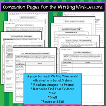Benchmark Advance Close Reading Companion Pages *Grade 5 GROWING BUNDLE