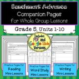 Benchmark Advance Companion Pages * Grade 5 BUNDLE-Units 1-10
